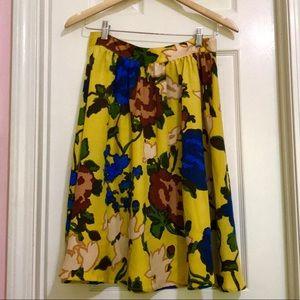 3 for $30 Vivienne Tam floral skirt🌻